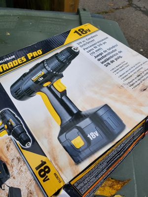 Trades pro cordless drill for Sale in Washington, DC