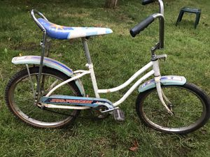 "Vintage BANANA Seat ""Star Princess"" cruiser bike for Sale in Portland, OR"
