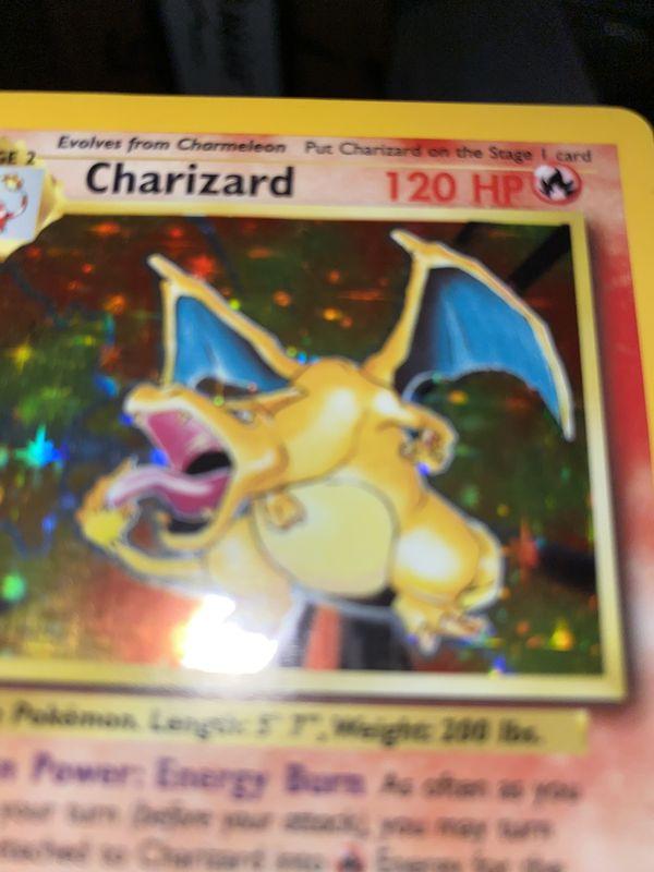 Charizard Holo Base Set