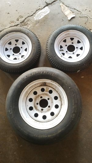 Trailer rims/tires for Sale in Burbank, IL