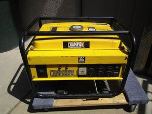 Champion Generator works well for Sale in Chino Hills, CA