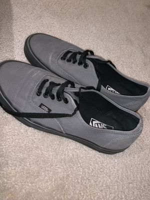 Vans Gray Shoes (Size 9) for Sale in Sterling, VA