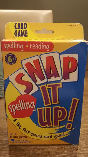 Snap it up kids spelling game for Sale in Southgate, MI
