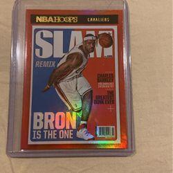 2020-2021 NBA Hoops Lebron James SLAM Magazine Holo Gold Foil #2 SSP for Sale in Buena Park,  CA
