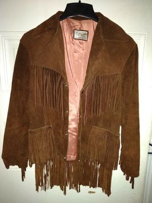 Women's suede leather jacket 1974 for Sale in Fenton, MO