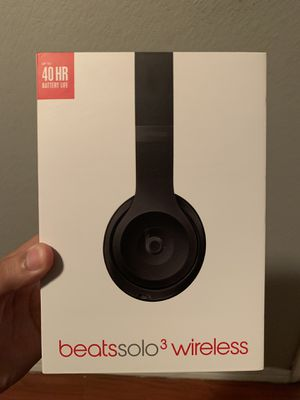 Beats solo 3 wireless headset for Sale in Covina, CA