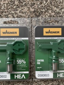 Brand new Wagner HEA Airless 211 and 311 spray tips for Sale in Kirkland,  WA