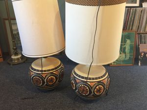 South West Style set of lamps for Sale in Lake Stevens, WA