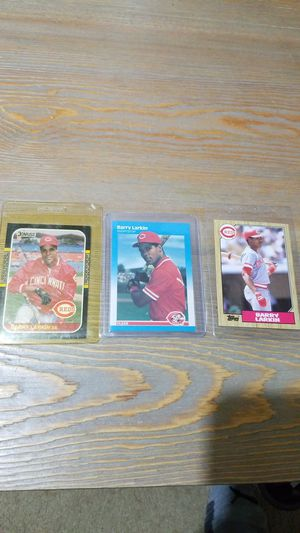 Baseball card- 3 Barry larkin rc for Sale in Roseburg, OR