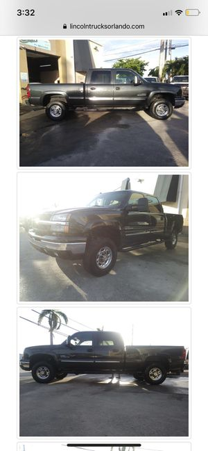 2003 CHEVY SILVERADO 2500 HD DIESEL for Sale in Orlando, FL