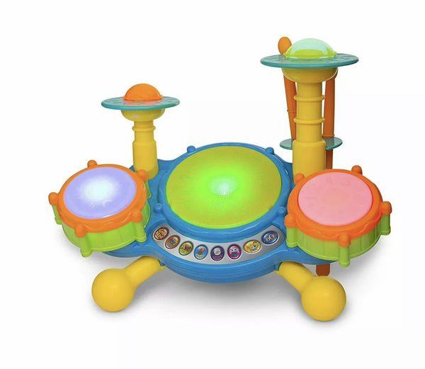 Kids education drum set