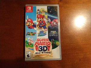 Super Mario 3D All Stars - limited edition 3 games in one - Nintendo Switch physical copy in hand for Sale in Washington, DC