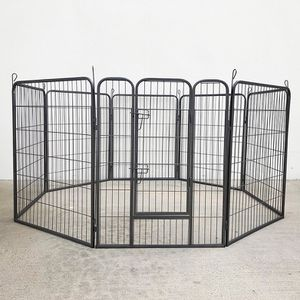 "(New In Box) $110 Heavy Duty 40"" Tall x 32"" Wide x 8-Panel Pet Playpen Dog Crate Kennel Exercise Cage Fence Play Pen for Sale in Whittier, CA"