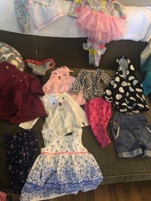 6 -9 month lot of baby girl clothes-ALL for $5! for Sale in Santa Clara, CA