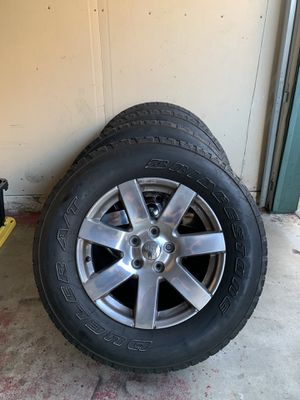 """Jeep Wrangler 18"""" OEM Wheels (rims & tires) for Sale in Los Angeles, CA"""
