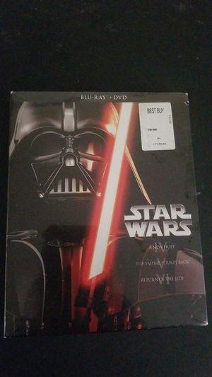 *SEALED* Star Wars IV, V. VI Blu-Ray/DVD set for Sale in Vallejo, CA