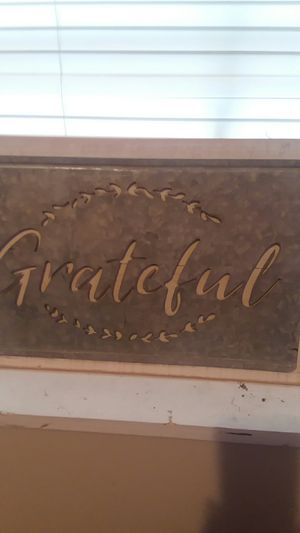 Moment sign Grateful for Sale in Starkville, MS