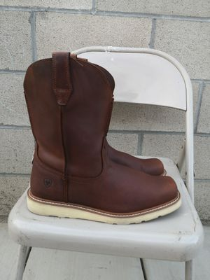 Ariat soft toe work boots size 12EE for Sale in Riverside, CA