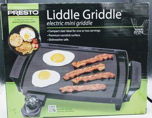 Presto Little Griddle Electric Min Griddle for Sale in Bridgeport, CT