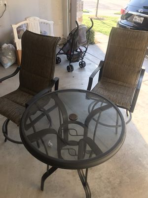 Patio Furniture | Table & 2 Chairs for Sale in Wylie, TX