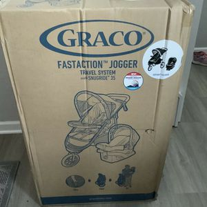 Graco Fast Action Jogger Stroller & Carseat for Sale in Canal Winchester, OH