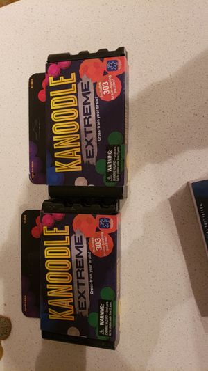 Kanoodle extreme brain puzzle games for Sale in Austin, TX