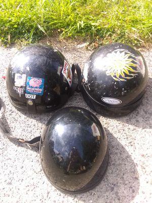 3 cycle helmets for Sale in Lynn, MA