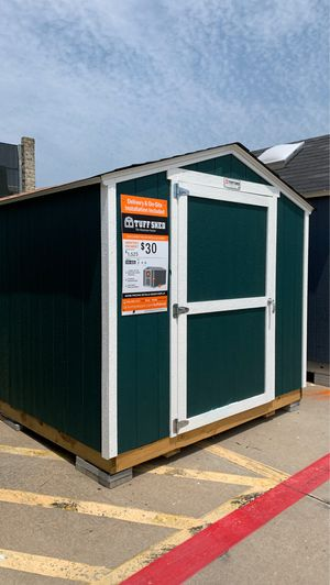 8x10 Tuff Shed KR600 display was 1,746 now 1571 delivery included within 30 miles. Must be able to get a truck into the site. for Sale in Austin, TX