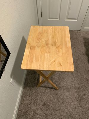 Foldable small wooden desk for Sale in Chico, CA