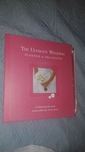 Wedding planner book never used for Sale in Las Vegas, NV