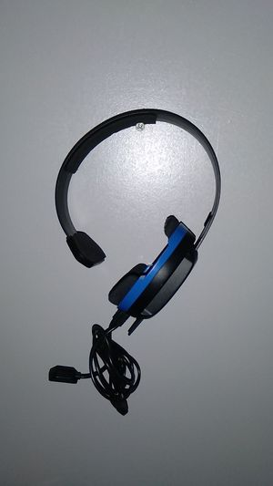 Turtle Beach Turtle Beach - Recon Chat Wired Mono Gaming Headset for PS4, PS4 Pro - Black/Blue for Sale in Fort Lauderdale, FL