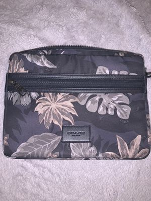 Authentic Coach tablet case for Sale in San Francisco, CA