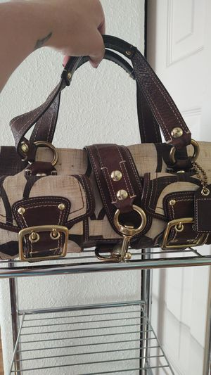 Authentic leather and canvas coach for Sale in Arvada, CO