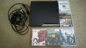 Ps3 system w/ cords and games $200/obo for Sale in Severn, MD