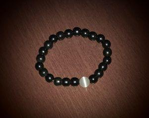 Magnetic Hematite & White Moonstone Bracelet for Sale in Scottsdale, AZ