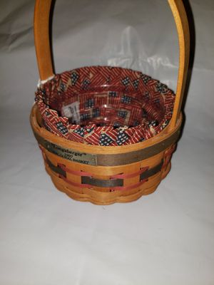 Longaberger Inaugural Basket for Sale in Thomasville, PA