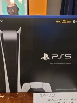PS5 Digital Edition NEW IN HAND for Sale in Dundalk,  MD