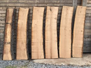 6pc Live Edge Cherry Slabs (ch4) for Sale in Bethel, PA
