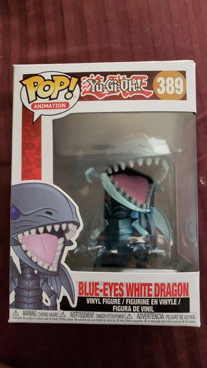 Funko pop, Yugioh: Blue Eyes White Dragon for Sale in Tallahassee, FL