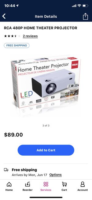RCA Projector for Sale in Mason City, IA