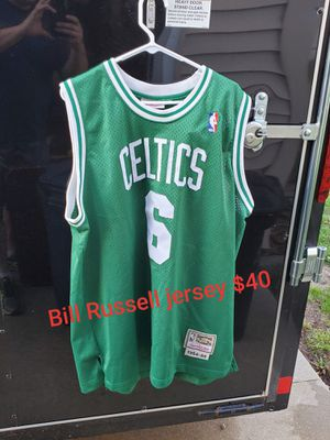 Bill Russell jersey for Sale in Chillicothe, IL