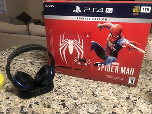 PS4 pro Spider-Man for Sale in Sanger, CA
