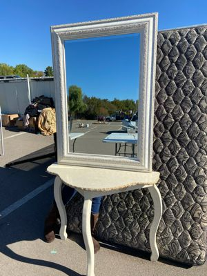 Vanity and mirror for Sale in San Diego, CA