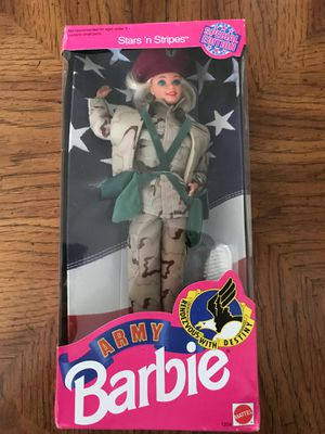 Vintage army Barbie for Sale in Everett, WA