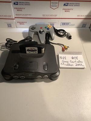 Nintendo 64 madden 2002 for Sale in Miami, FL