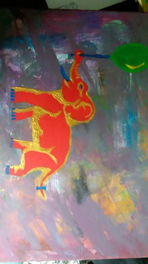 Elephant painting for Sale in St. Louis, MO
