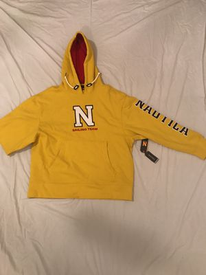 Nautica yellow pullover hoodie (Lil Yachty collaboration) for Sale in Maricopa, AZ