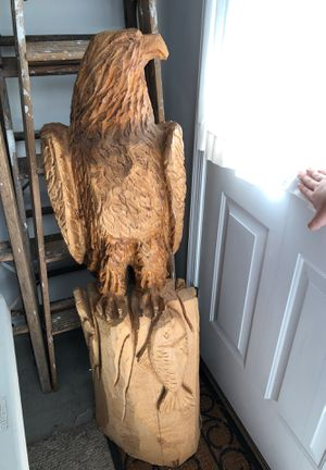 Eagle chainsaw statue for Sale in Mountville, PA