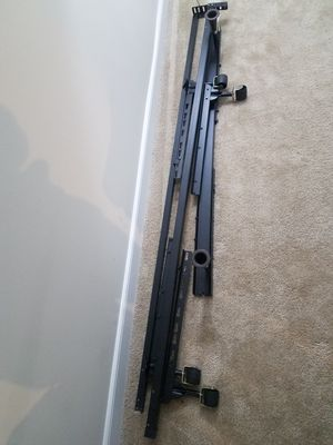 Metal Bed Frame - up to Queen size for Sale in Alexandria, VA