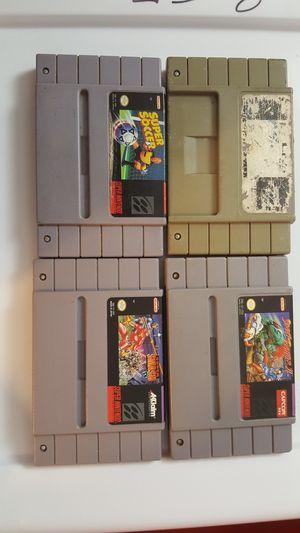 Super Nintendo lot 2 for Sale in Chicago, IL